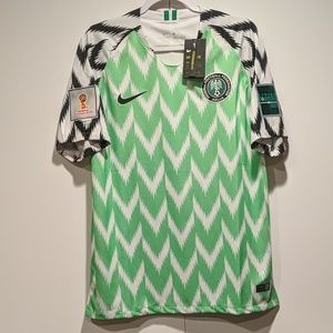 Nigeria Home World Cup 2018 Jersey